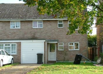 Thumbnail 3 bed terraced house to rent in Lark Road, Mildenhall