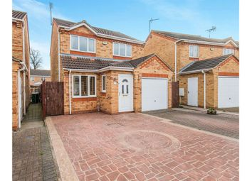 Thumbnail 3 bed detached house for sale in Lyvelly Gardens, Peterborough