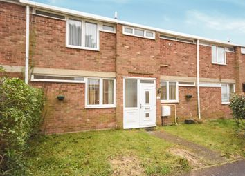 Thumbnail 3 bed terraced house for sale in Clare Close, Mildenhall, Bury St. Edmunds