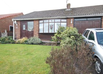Thumbnail 3 bed semi-detached bungalow for sale in Sandfield Crescent, Glazebury, Warrington