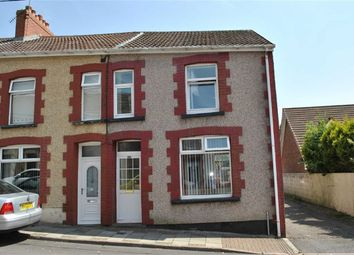 Thumbnail 3 bed end terrace house for sale in Church Street, Aberbargoed, Bargoed