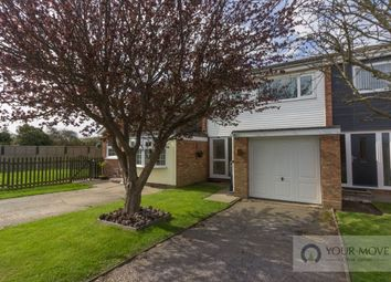 Thumbnail 3 bed terraced house for sale in Coopers Drive, Kessingland, Lowestoft