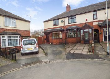 Thumbnail 2 bed terraced house for sale in Howe Grove, Knutton, Newcastle-Under-Lyme