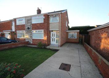 Thumbnail 3 bed semi-detached house for sale in Whorlton Road, Billingham