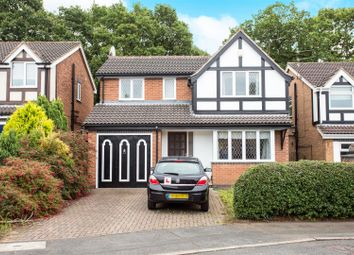 Thumbnail 4 bed detached house for sale in Cedarwood Court, Oakwood, Derby