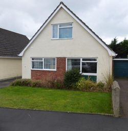 Thumbnail 4 bed detached house to rent in Heol Alun, Waunfawr