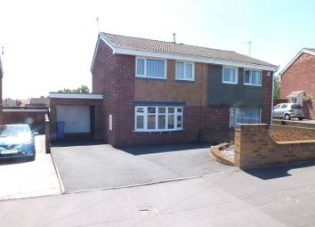Thumbnail 3 bedroom semi-detached house to rent in Greenmoor Avenue, Wedgwood Farm Estate, Stoke-On-Trent