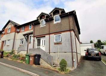 Thumbnail 3 bed terraced house for sale in Douglass Road, Manorfields, Efford, Plymouth, Devon