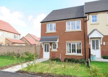Thumbnail 3 bed end terrace house for sale in Hyde Park, Padnal, Littleport, Ely