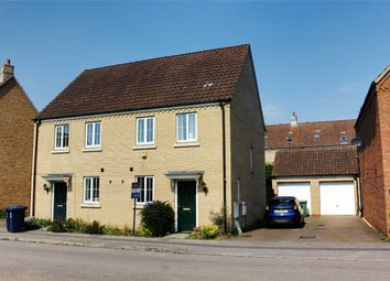 Thumbnail 2 bed semi-detached house to rent in Godmanchester, Huntingdon, Cambridgeshire