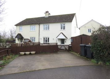 Thumbnail 3 bed semi-detached house for sale in Belle Vue, Washford, Watchet