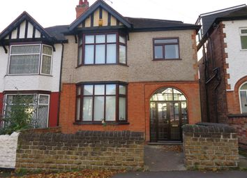 Thumbnail 6 bed semi-detached house to rent in Harlaxton Drive, Lenton, Nottingham