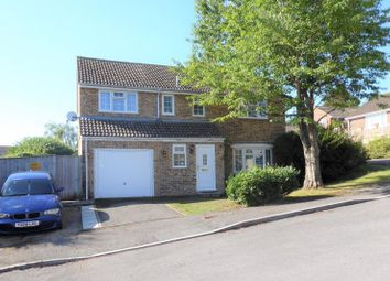 Thumbnail 4 bed detached house to rent in Biddel Springs, Highworth, Swindon