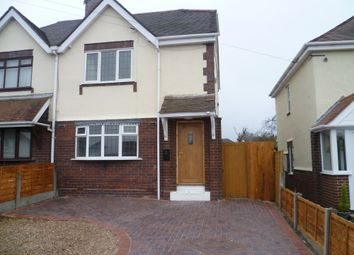 Thumbnail 3 bed semi-detached house for sale in Littlewood Lane, Cheslyn Hay, Walsall