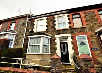 Thumbnail 4 bed terraced house for sale in Quarry Road, Pontypridd