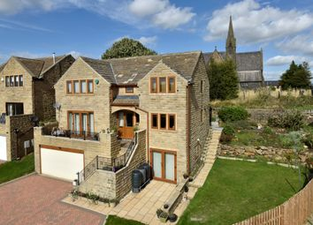 Thumbnail 4 bed detached house for sale in Cannon Hall Drive, Clifton, Brighouse