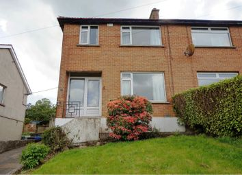 Thumbnail 3 bed semi-detached house for sale in Maryville Park, Bangor
