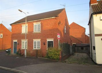 Thumbnail 2 bed semi-detached house for sale in Eldon Street, Tuxford, Newark