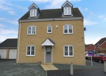 Thumbnail 4 bed detached house for sale in Gull Way, Chatteris