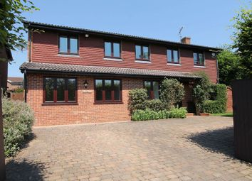 Thumbnail 4 bed detached house for sale in Knoll Road, Godalming