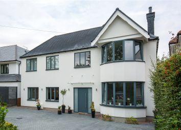 Thumbnail 5 bedroom detached house for sale in Grimsdyke Crescent, Arkley, Hertfordshire