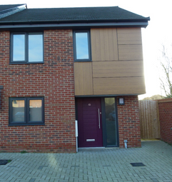 Thumbnail 2 bed terraced house to rent in Whooper Close, Long Stratton