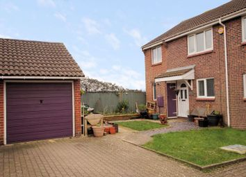 Thumbnail 3 bed end terrace house for sale in The Linnets, Portchester, Fareham