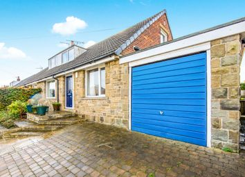 Thumbnail 3 bed semi-detached bungalow for sale in Derwent Road, Honley, Holmfirth