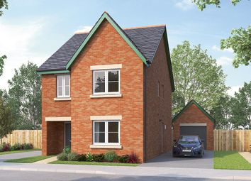 "Thumbnail 4 bed detached house for sale in ""The Glastonbury"" at Boroughbridge Road, Knaresborough"