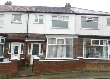 Thumbnail 2 bed terraced house to rent in Wall Street, Grimsby