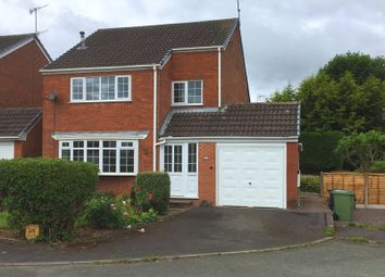 Thumbnail 3 bed detached house to rent in Usulwall Close, Eccleshall, Staffordshire