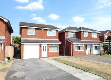Thumbnail 3 bed detached house for sale in Crown Fields Close, Newton-Le-Willows