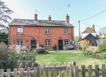 Thumbnail 2 bed semi-detached house for sale in Kings Somborne, Stockbridge, Hampshire