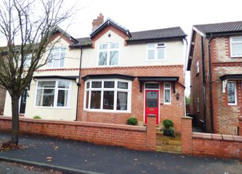 Thumbnail 3 bedroom semi-detached house for sale in Linden Grove, Stockport