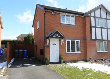 Thumbnail 2 bed semi-detached house for sale in Bowfell Grove, Adderley Green