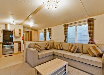 Thumbnail 3 bed mobile/park home for sale in Corton, Lowestoft, Suffolk