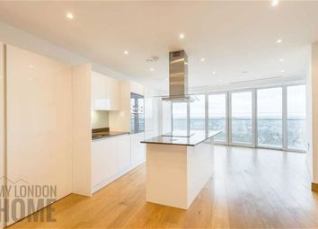 Thumbnail 1 bed flat for sale in Arena Tower, Canary Wharf, London