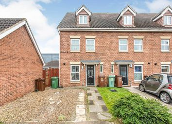 Thumbnail 3 bedroom end terrace house for sale in Cherry Tree Walk, Knottingley, West Yorkshire