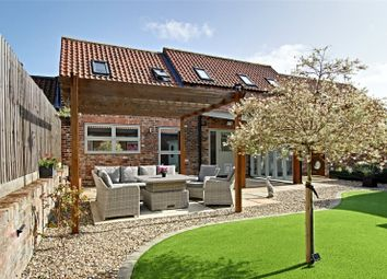 Thumbnail 3 bed detached house for sale in Corner Farm Drive, Brandesburton, Driffield