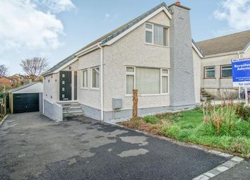 Thumbnail 4 bedroom bungalow for sale in Lon Y Wennol, Llanfairpwll P.G., Anglesey, North Wales