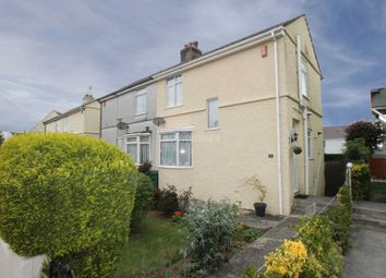 Thumbnail 2 bed semi-detached house for sale in Queens Road, Plymouth