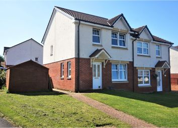 Thumbnail 3 bed semi-detached house for sale in Drumbowie Crescent, Shotts