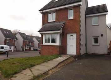 Thumbnail 3 bedroom town house for sale in Millgate Crescent, Caldercruix, North Lanarkshire