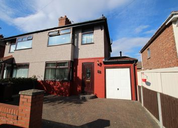 Thumbnail 3 bed semi-detached house for sale in Wylva Avenue, Crosby, Liverpool