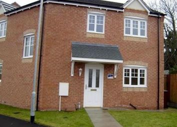Thumbnail 3 bed end terrace house to rent in Hainsworth Park, Hull