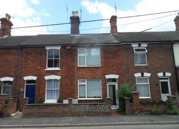 Thumbnail 3 bed terraced house to rent in Denmark Road, Beccles, Suffolk