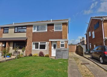 Thumbnail 3 bed semi-detached house to rent in Beverley Road, Stubbington, Fareham