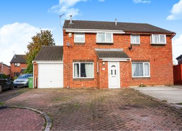 Thumbnail 3 bed semi-detached house for sale in Yardley Way, Grimsby