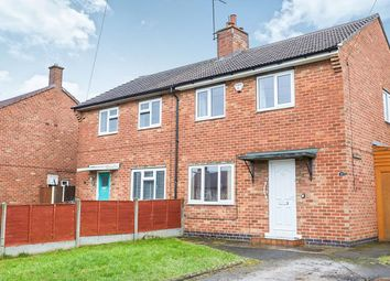 Thumbnail 2 bed semi-detached house for sale in Warwick Close, Midway, Swadlincote