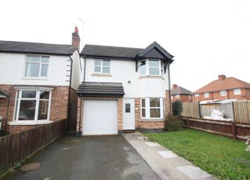 Thumbnail 3 bed detached house to rent in Westwood Road, Atherstone